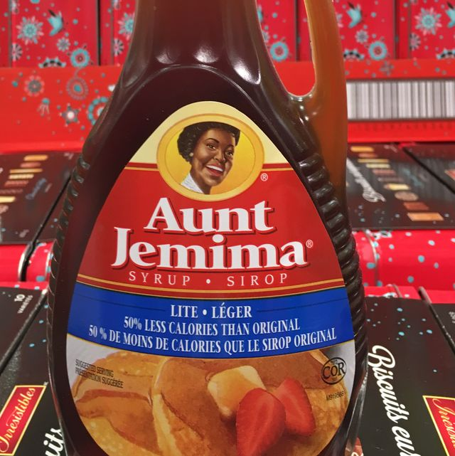 aunt jemima syrup label in bottle aunt jemima is a brand of