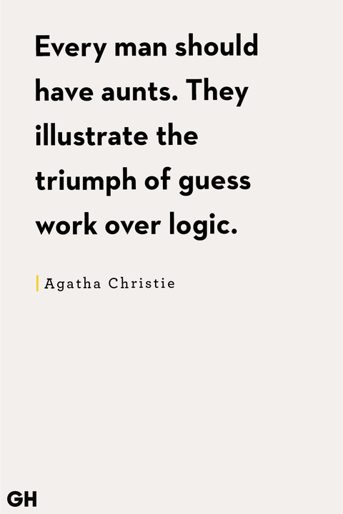Aunt Quotes Agatha Christie