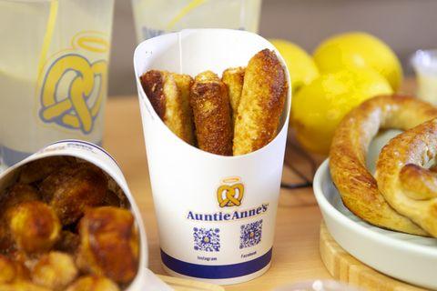 蝴蝶餅,auntie anne's