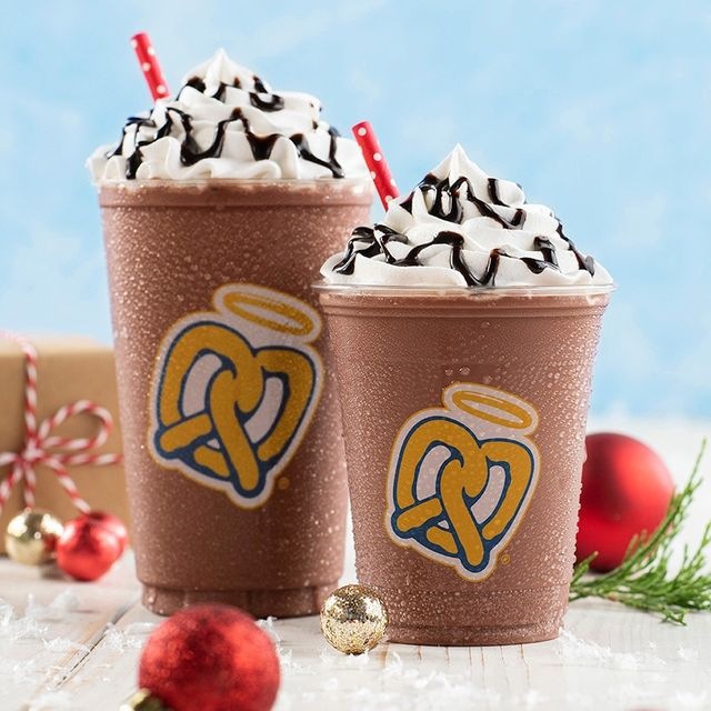 auntie anne's hot chocolate frost