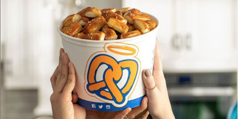 You Could Win a Year of Free Pretzels From Auntie Anne's, and It's Basically a Dream Come True