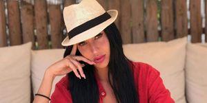 Aurah Ruiz en la playa