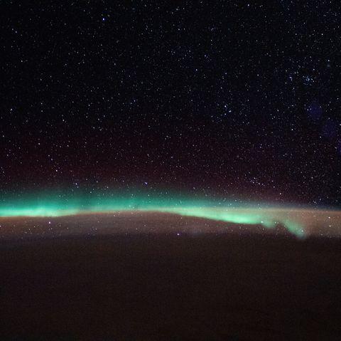 NASA capture aurora from space
