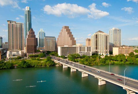 Austin, Texas skyline