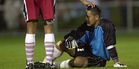 Player, Sports equipment, Team sport, Ball game, Football player, Tournament, Sports gear, Soccer player, Sports, Football,