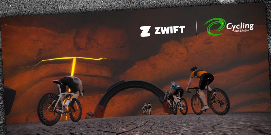 Zwift e-racing national championships