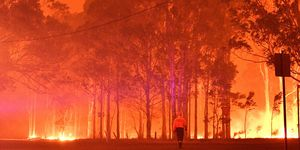 TOPSHOT-AUSTRALIA-WEATHER-FIRES