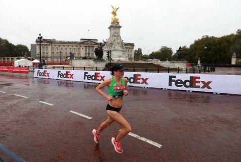 virgin money london marathon   st james' park