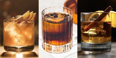 Drink, Black russian, Godfather, Old fashioned glass, Old fashioned, Distilled beverage, Alcoholic beverage, Liqueur, Mizuwari, Amaretto,