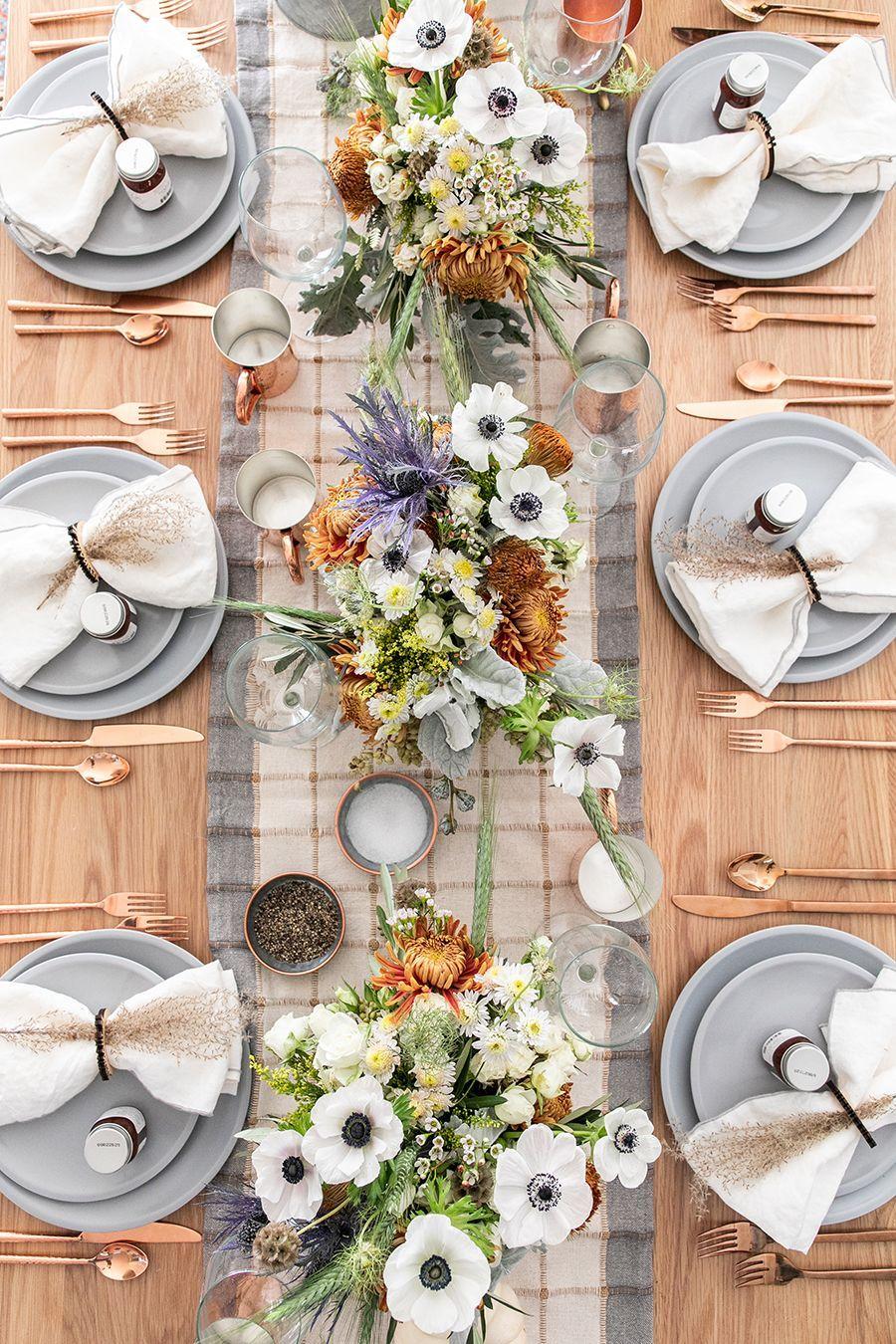 40 Best Thanksgiving Table Decor Ideas - Thanksgiving Table Settings