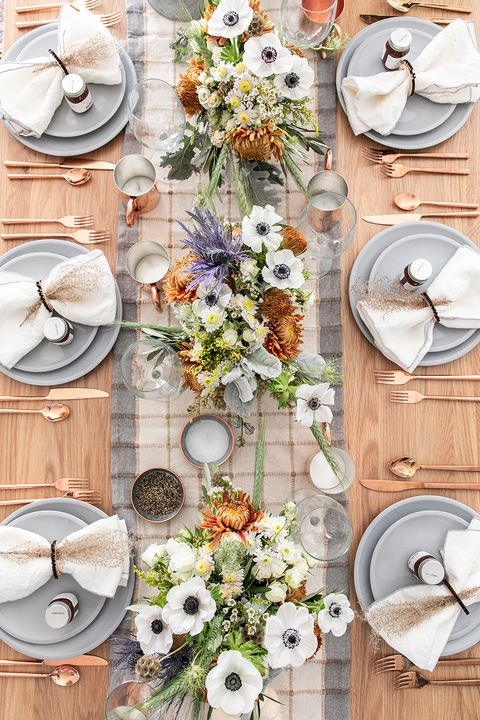 60 Thanksgiving Table Settings - Thanksgiving Tablescapes ...