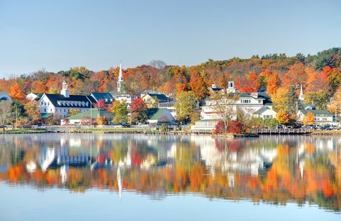 14 Best Places To See New England Fall Foliage 2019 Scenic