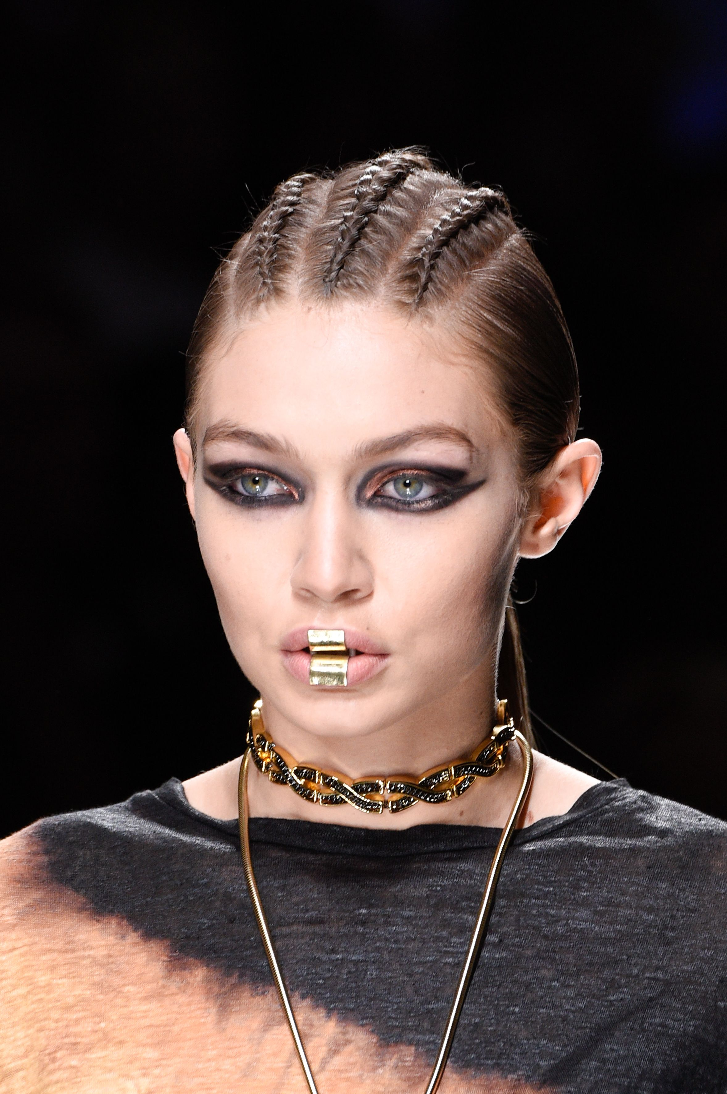 Autumn/Winter 2017 hair and makeup trends