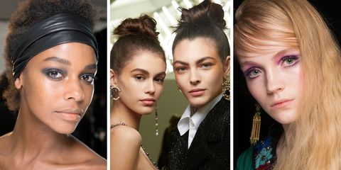 Autumn Winter 2018 Hair And Makeup Trends 79 Best Beauty Looks