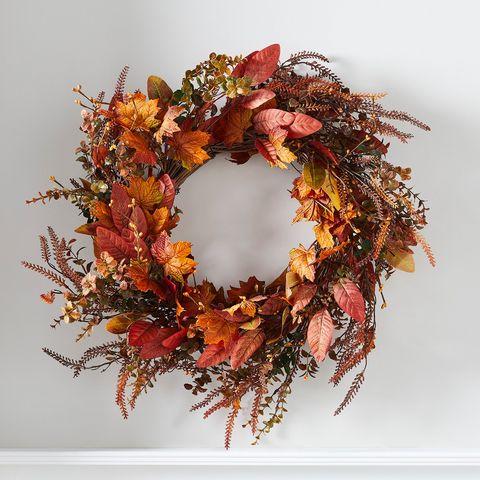 autumn wreath, £4199, lights4fun