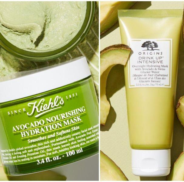 Kiehl's 酪梨植萃保濕面膜,品木宣言 一飲而盡深度滋潤面膜,