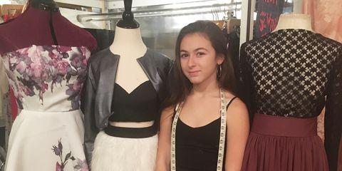 Clothing, Fashion, Dress, Shoulder, Fashion design, Boutique, Neck, Long hair, Little black dress, Fashion accessory,