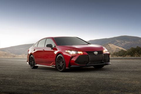 2020 Toyota Avalon TRD Gets Performance Tuning, Aggressive ...