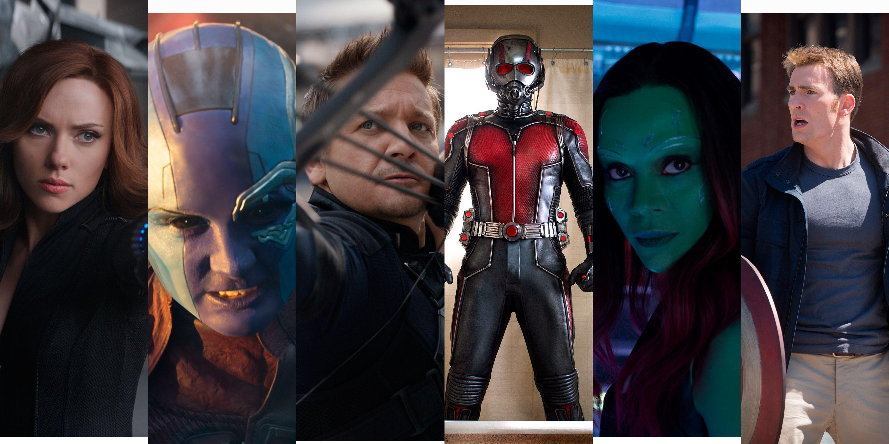 avengers 4 personajes