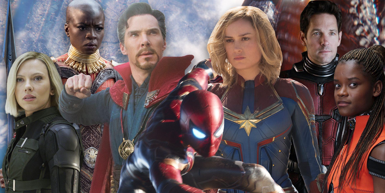Avengers 5 concept art, Black Widow, Okoye, Doctor Strange, Spiderman, Captain Marvel, Ant Man, Shuri