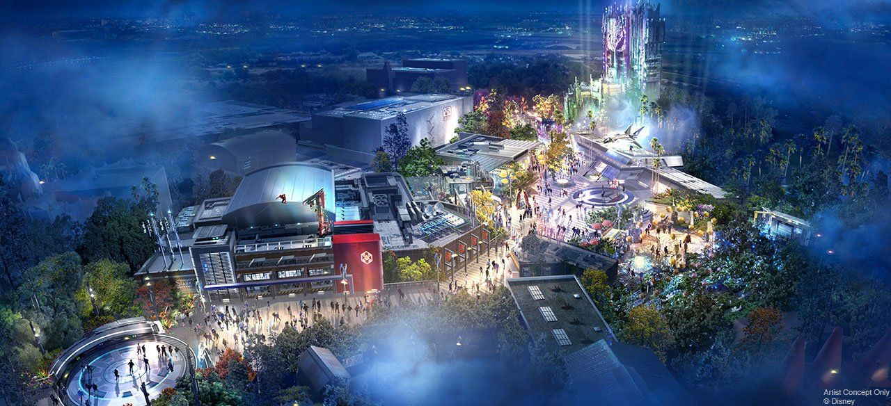 Disney teases new Marvel's Avengers theme parks
