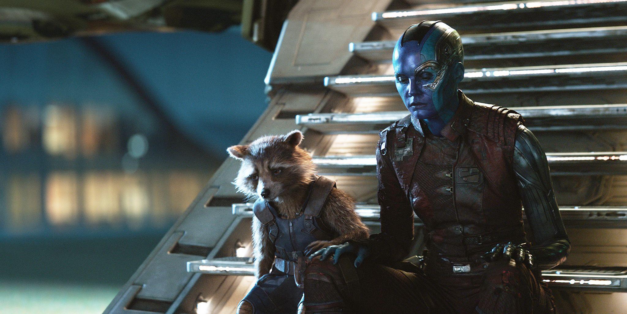 Avengers: Endgame, Bradley Cooper, Karen Gillan
