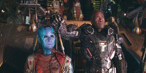 Avengers: Endgame, Don Cheadle, Karen Gillan, Nebula