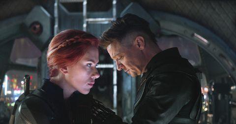 Avengers: Endgame, Jeremy Renner, Scarlett Johansson