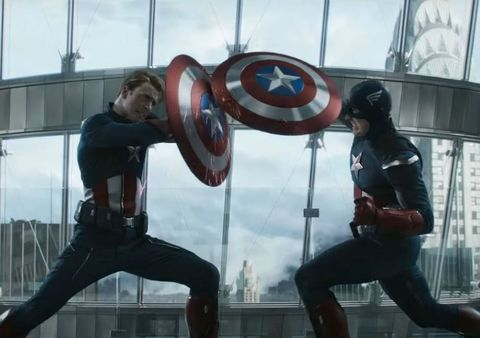 avengers endgame – captain america fighting captain america