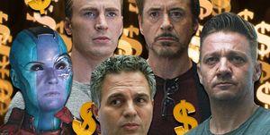 Avengers: Endgame, Expenses, Iron Man, Captain Marvel