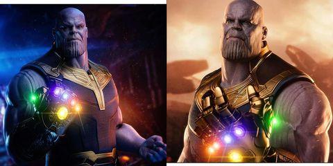 Avengers Endgame gemas del infinito Thanos