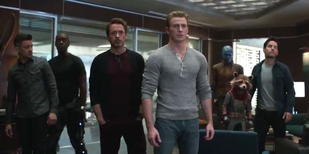 7e4e6b501c3 Avengers: Endgame new trailer sees Captain America and Iron Man face off  with Thanos