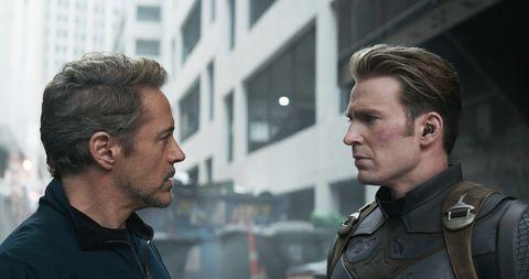 Avengers: Endgame, Iron Man, Robert Downey Jr., Captain America, Chris Evans