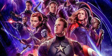 Marvel's Avengers Endgame poster