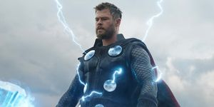 Avengers Endgame fat Thor