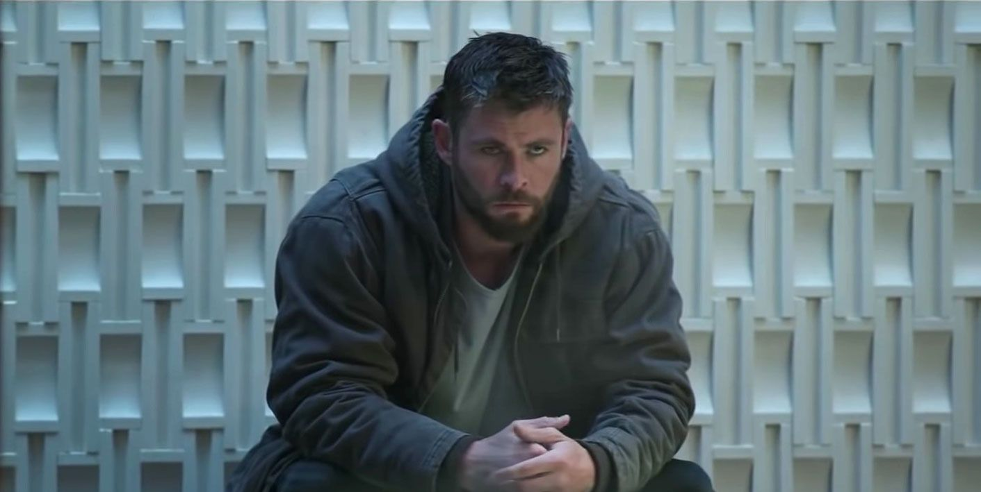 Avengers Endgame, Chris Hemsworth as Thor
