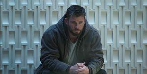 Avengers Endgame, Chris Hemsworth as Thor