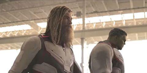 vengadores endgame thor hulk