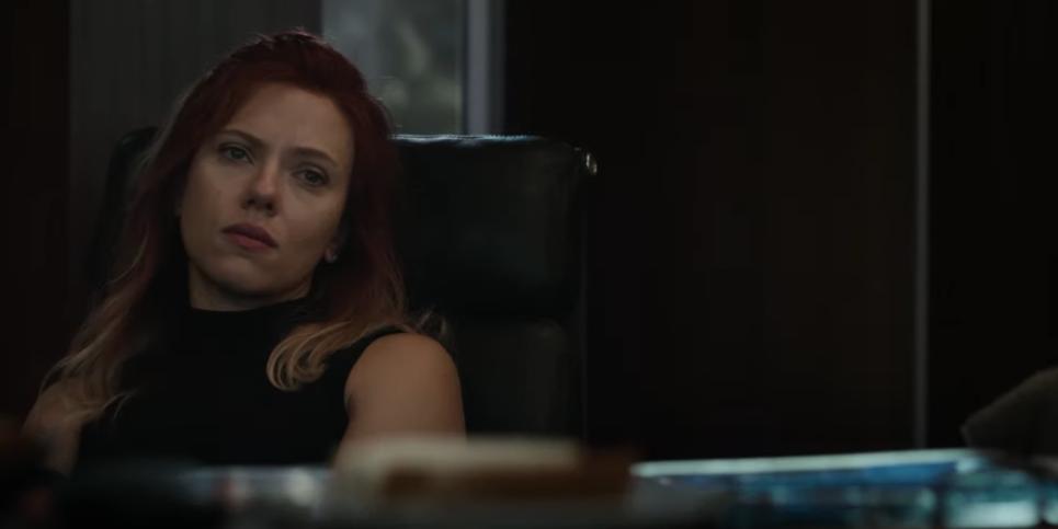 Avengers Endgame nuevo trailer viuda negra