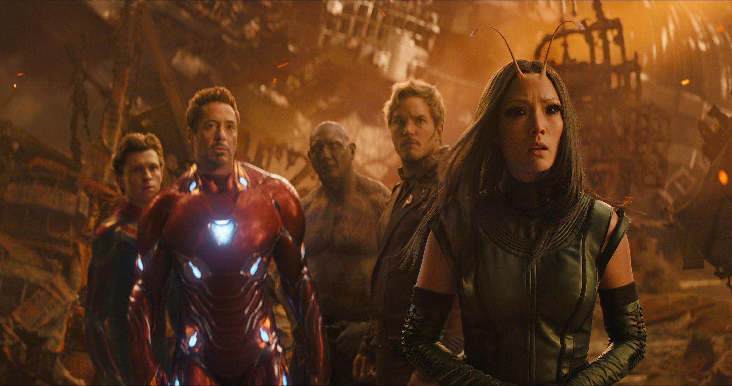 漫威,Marvel,超級英雄,復仇者聯盟,無限之戰,刪減片段,電影