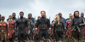 Avengers Infinity War, Black Panther, Captain America, Black Widow, final battle in Wakanda