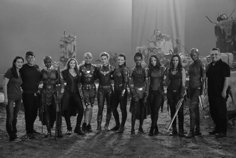 Avengers Endgame Reveals Behind The Scenes Look At Movie S Female