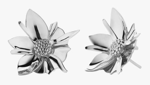 meadowlark orecchini argento fiore primavera estate 2021