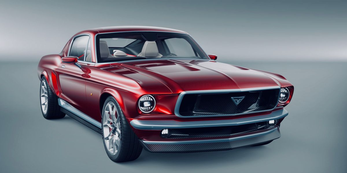 This Gorgeous Classic Mustang? It's Electric, and Based on a Tesla