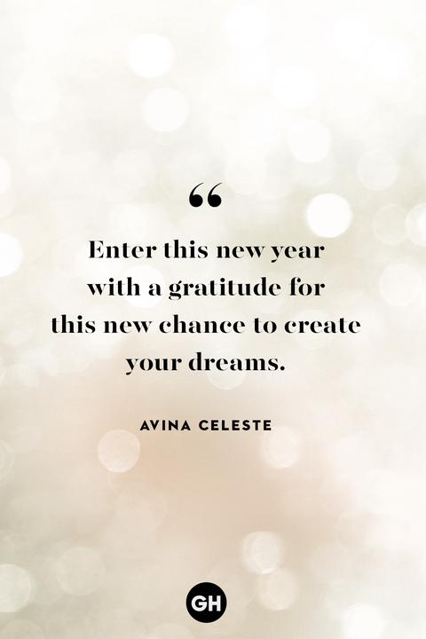 avina celeste — new year's quotes
