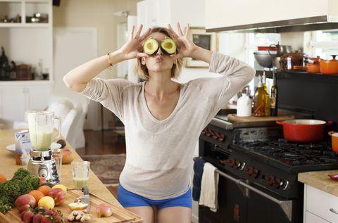 avocado eyes in kitchen