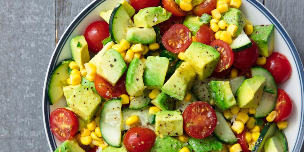 15 Easy Avocado Salad Recipes Best Salads With Avocado