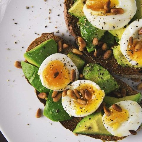 Dish, Food, Cuisine, Ingredient, Avocado, Salad, Produce, Breakfast, Egg, À la carte food,