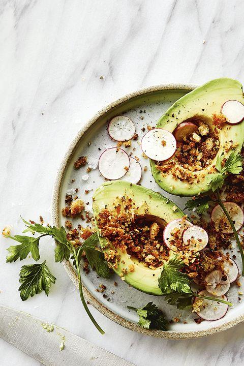 Avocado with Toasty Crumbs - Chrissy Teigen Recipe