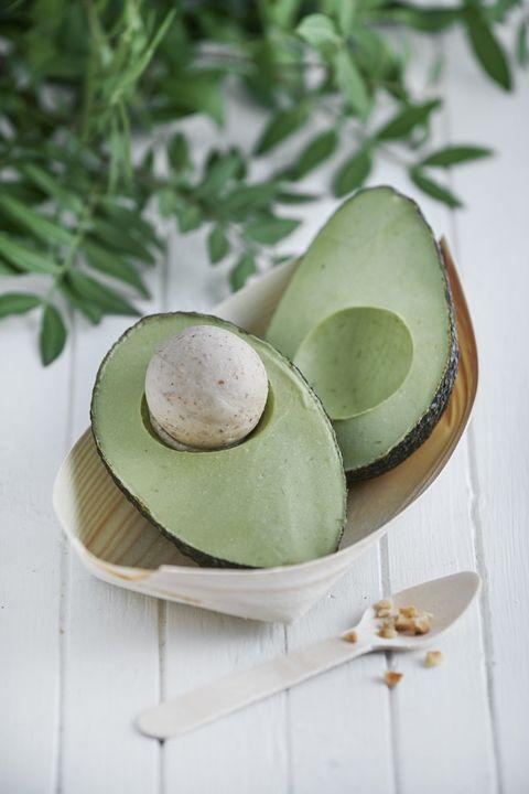Food, Avocado, Mochi, Egg, Cuisine, Dish, Ingredient, Plant, Produce,